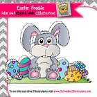 Easter Bunny Freebie clipart