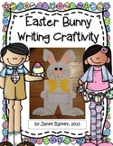 Easter Bunny Writing Craftivity Plus Print and Go Printables
