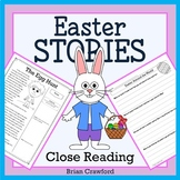 Easter No Prep Reading Activities