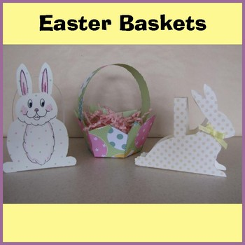 Easter Crafts - 3 Easter Baskets