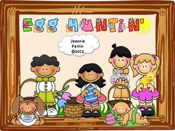 Easter Egg Huntin' - Word Wall game