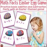 Math Fact Easter Egg Game