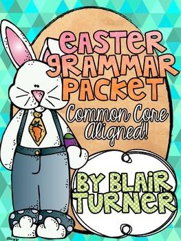 Easter Grammar Packet