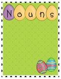 Easter Grammar Sort: Nouns, Verbs, and Adjectives