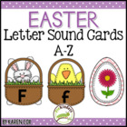 Easter Letter Sound Matching Cards A-Z