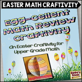 Easter Math Craftivity for the Upper Grades