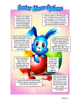Easter Menu Options
