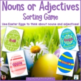 Nouns or Adjectives Sort - Easter Theme
