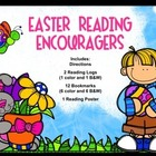 Easter Reading Encouragers (Themed Bookmarks, Reading Log,