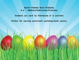 Easter Theme Math Word Problems