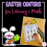 Easter Literacy and Math Bundle