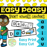 Easy Peasy- Short Vowels
