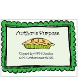 Easy as PIE - Author's Purpose
