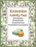 Economics Activity COMBO Pack: 8 NO PREP Printables