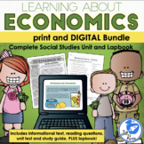 Economics Unit & Lapbook {Complete Unit with informational