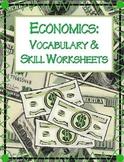 Economics Vocabulary & Activity Packet   NO PREP!