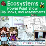 Ecosystems Interactive Notebook Flip Books, PowerPoint Sho