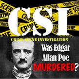 Edgar Allan Poe- A CSI Activity! Was he MURDERED??