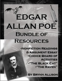 Edgar Allan Poe Bundle of Resources