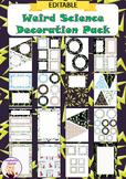 Editable Decoration Pack - Weird Science