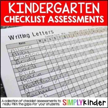 Kindergarten Assessments