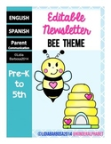 Editable Newsletters- Bee Theme
