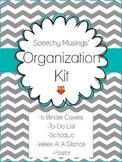 Editable Organization Kit Freebie: To-Do List, Schedule, B