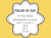 Editable Polka Dot AR Chart