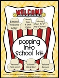 Editable PopCorn Welcome Kit