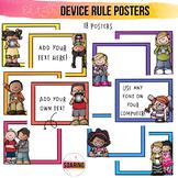 Editable iPad Rule Posters