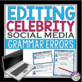 EDITING GRAMMAR IN CELEBRITY SOCIAL MEDIA: Spelling, Gramm