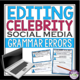 EDITING CELEBRITY SOCIAL MEDIA: Spelling, Grammar, & Punct