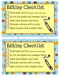 Editing Checklist (K-First)