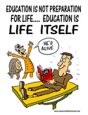 """Education is Life Itself"" Digital Motivational and Educat"
