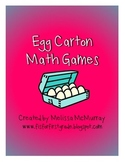 Egg Carton Math Games: Addition, Subtraction, and Coins