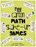"Egg Carton Math ""Shake Up"" Games"