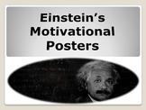Einstein's Motivational  Posters