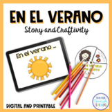 El Verano {A fun craft to welcome the summer to class}