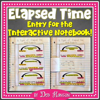 Elapsed Time FREEBIE: An Interactive Notebook Entry
