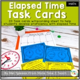 Elapsed Time Task Cards {FREE}