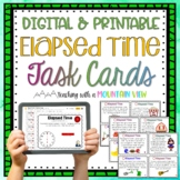 Elapsed Time Task Cards Set #2 { Differentiated }