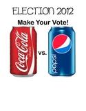 Election 2012 Coke vs. Pepsi  Electoral College