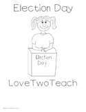 Election Day:  Literacy and Math Fun for Primary Grades