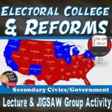 Electoral College Lecture & Activity (Civics)