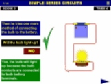 Electric Circuits Interactive Learning Tasks - Series and