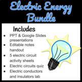 Electric Circuits Worksheets Bundle