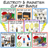 Electricity Clip Art Combo Pack