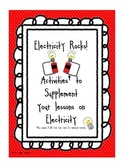 Electricity Rocks - Printable Activities with QR Scan Code
