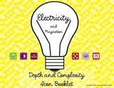 Electricity and Magnetism Depth and Complexity Icon Booklet