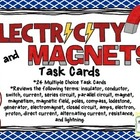 Electricity and Magnetism Task Cards